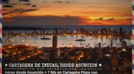 Cartagena desde Asuncion - Febrero & Marzo 2019